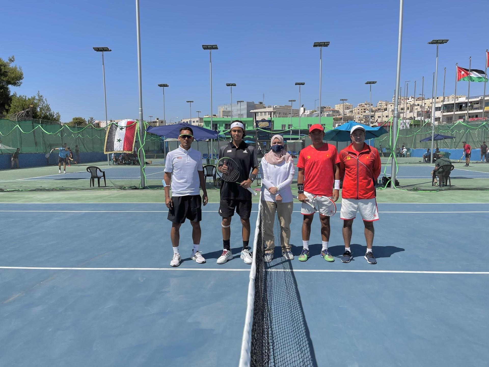 Hình ảnh: Tuyển Davis Cup Việt Nam giành vé play-off Davis Cup nhóm II với thành tích bất bại số 2